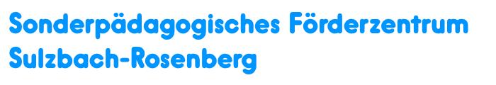 Sonderpädagogisches Förderzentrum Sulzbach-Rosenberg