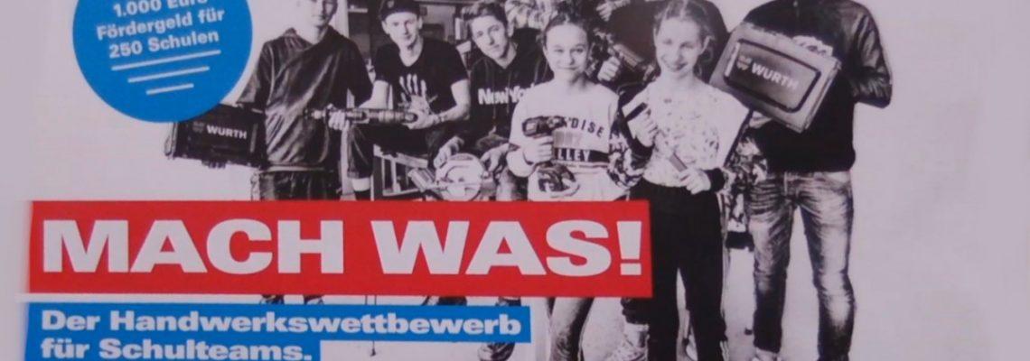 """""""mach was!"""" – Der Handwerkswettbewerb"""