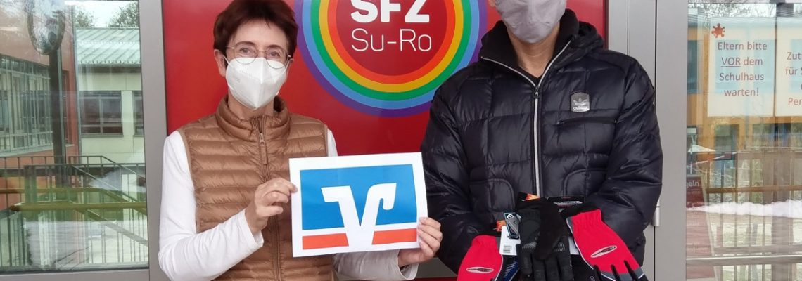 Raiffeisen-Spende fürs SFZ