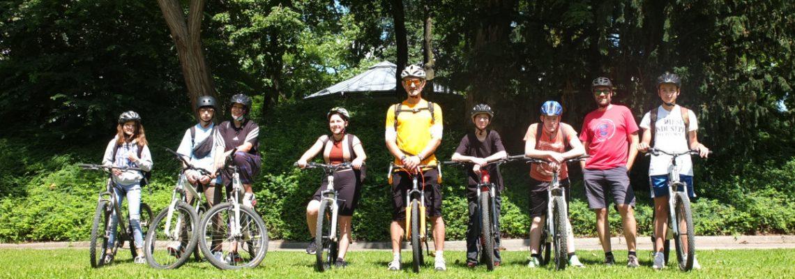 Klassenradtouren – auf ein Eis nach Amberg