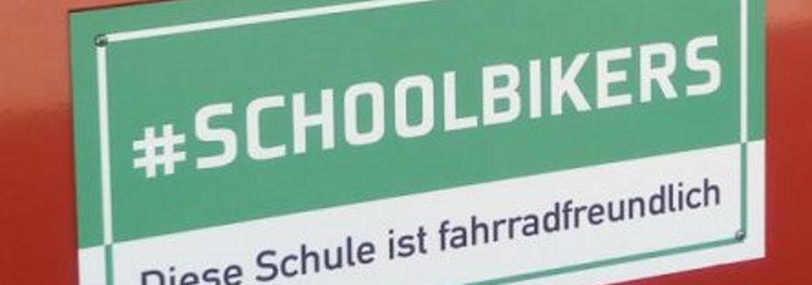 Label #schoolbikers erhalten – fahrradfreundliche Schule