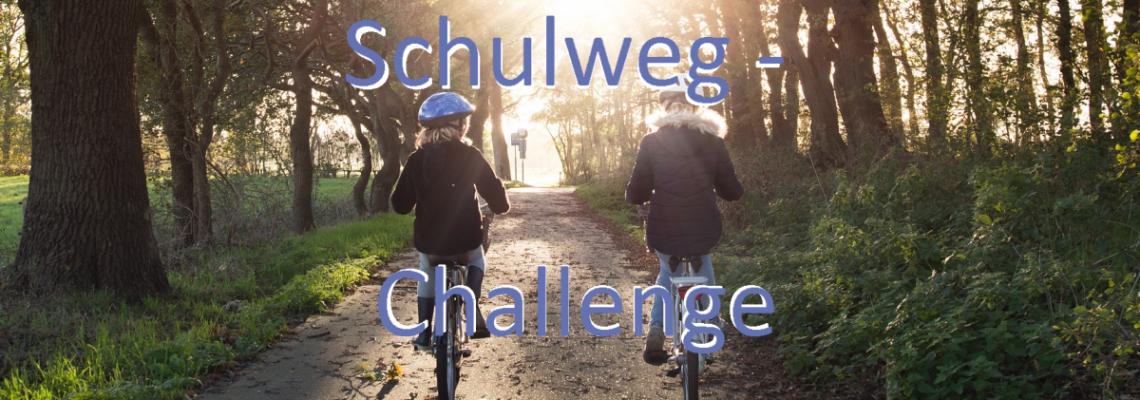 Schulweg-Challenge: Mit dem Fahrrad zur Schule